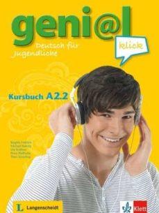 Mejores libros electrónicos descargados GENIAL KLICK A2.2 ALUM+MP3 de  in Spanish