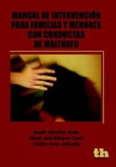 manual de intervencion para familias y menores con conductas de m altrato-josefa sanchez heras-maria jose ridaura costa-9788415442264