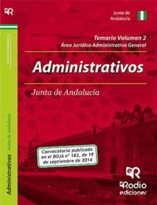 Javiercoterillo.es Administrativos De La Junta De Andalucía. Temario. Volumen 2 Image