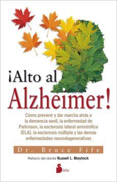 Descarga gratuita de libros en pdf para android. ¡ALTO AL ALZHEIMER!