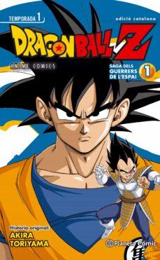 bola de drac z anime series saiyan nº01/05-akira toriyama-9788416308064