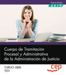 Javiercoterillo.es Cuerpo De Tramitacion Procesal Y Administrativa De La Administracion De Justicia. Turno Libre. Test Image