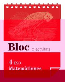 Javiercoterillo.es Bloc Activitats Matematiques 4º Eso Cataluña Ed 16 Image