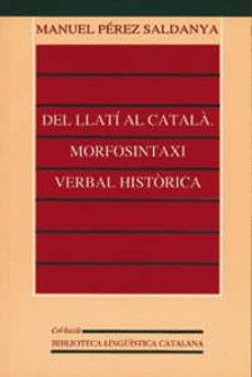 Mrnice.mx Del Llati Al Catala: Morfosintaxi Verbal Historica Image