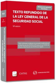Mrnice.mx Texto Refundido De La Ley General De La Seguridad Social Image
