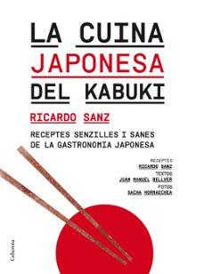 la cuina japonesa del kabuki-juan manuel bellver-ricardo sanz-9788466414364