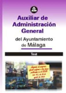 Inmaswan.es Auxiliar De Administracion General Del Ayuntamiento De Malaga: Te St Image