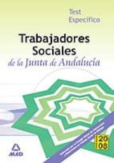 Padella.mx Trabajadores Sociales De La Junta De Andalucia: Test Especifico. Image