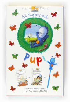 el superpack de pupi: pupi y la aventura de los cowboys + pupi y los fantasmas + un pupi-lápiz-maria menendez-ponte cruzat-9788467535464