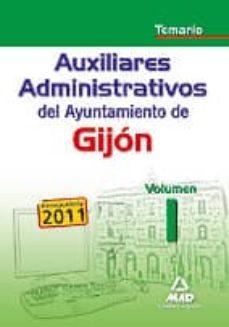 Titantitan.mx Auxiliares Administrativos Del Ayuntamiento De Gijon. Temario Vol Umen I Image