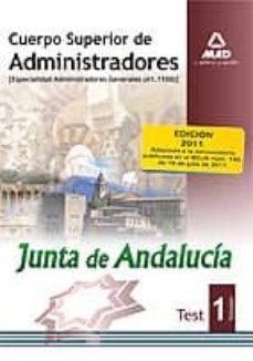 Chapultepecuno.mx Cuerpo Superior De Administradores, Especialidad Administradores Generales, Junta De Andalucía. Test Image