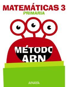 matemáticas 3º educacion primaria método abn mec cast ed 2018-9788469842164