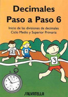 Garumclubgourmet.es Decimales Paso A Paso 6, Educacion Primario Image