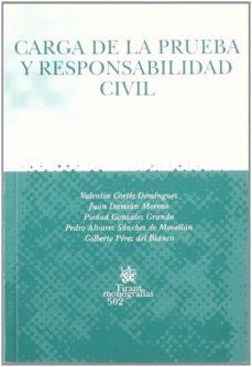 Lofficielhommes.es Carga De La Prueba Y Reponsabilidad Civil Image
