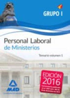 Inmaswan.es Personal Laboral De Ministerios Grupo I. Temario Volumen 1 Image