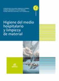 higiene del medio hospitalario y limpieza de material (ebook)-9788491610564