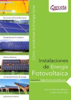 instalaciones de energia fotovoltaica: como rentabilizar la energ ia solar-9788492812264