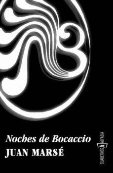 noches de bocaccio-juan marse-9788493890964