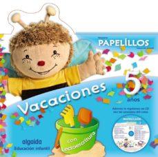 vacaciones papelillos 5 (cd música y pegatinas)-9788498776164
