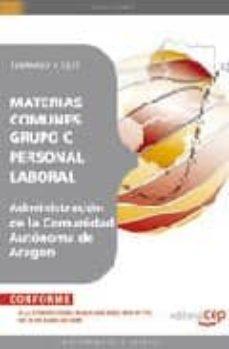 Cdaea.es Personal Laboral De La Administracion De La Comunidad Autonoma De Aragon. Materias Comunes Grupo C. Temario Y Test Image