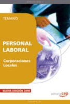 Mrnice.mx Personal Laboral De Corporaciones Locales. Temario Image