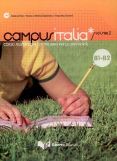 Geekmag.es Campus Italia 2 (Libro). Corso Multimediale Di Italiano Per La Un Iversita. Nivel B1/b2 Image