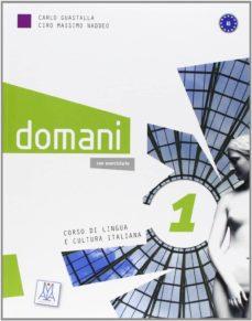 Ebook descargas gratuitas para móvil DOMANI 1 (LIBRO ALUMNO + DVD)