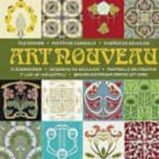 Valentifaineros20015.es Art Nouveau: Diseño De Azulejos (Incluye Cd) Image
