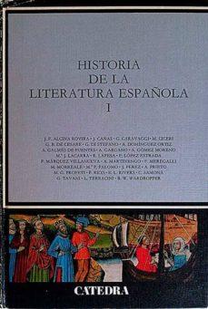 HISTORIA DE LA LITERATURA ESPAÑOLA 1 - VVAA | Triangledh.org