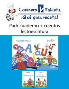 Inmaswan.es Pack 2-4 Años Cuentos+cuad.lecto.(cocinero Tableta) Image