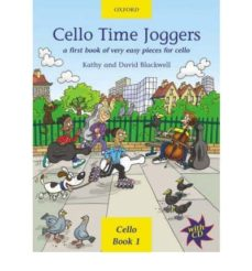 cello time joggers: a first book of very easy pieces for cello-kathy blackwell-9780193220874