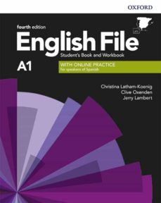 Descarga de ebooks ENGLISH FILE 4TH EDITION A1. STUDENT S BOOK AND WORKBOOK WITHOUT KEY PACK de