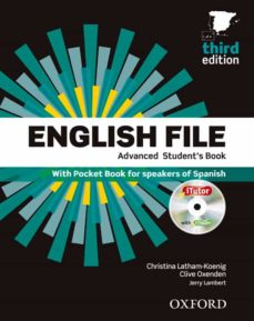 Libro gratis descargas de ipod ENGLISH FILE: ADVANCED: MULTIPACK B ePub PDB 9780194502474