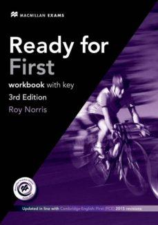 Descargar READY FOR FIRST C WORKBOOK +KEY PACK 3RD ED KEY + AUDIO CD PACK gratis pdf - leer online