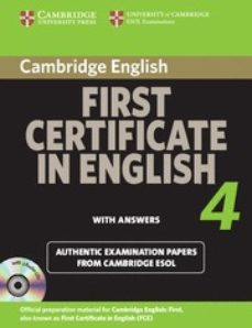 Descargar CAMBRIDGE FIRST CERTIFICATE IN ENGLISH 4 FOR UPDATED EXAM: SELF-S TUDY PACK gratis pdf - leer online