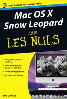 mac os x snow leopard pour les nuls (ebook)-bob levitus-9782754034074
