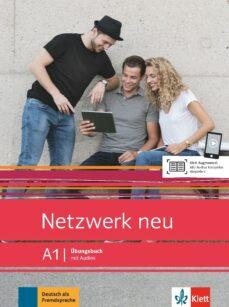 Libros de texto descargables gratis en línea NETZWERK NEU A1 LIBRO DE EJERC + AUDIO  9783126071574 en español de