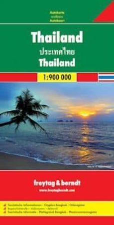 Eldeportedealbacete.es Tailandia, Mapa De Carreteras Escala: 1:900.000 Image