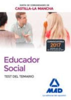 educadores sociales de la junta de comunidades de castilla-la mancha. temario específicotest-9788414206874