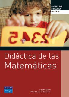 didactica de las matematicas para educacion infantil-mª del carmen chamorro-9788420548074