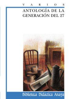antologia de la generacion del 27-9788420727974
