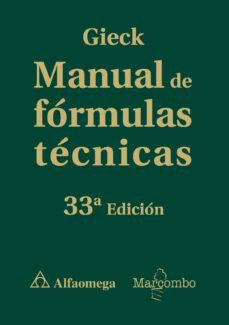 Descargar MANUAL DE FORMULAS TECNICAS gratis pdf - leer online