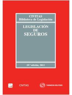 Ojpa.es Legislacion De Seguros 2013 Formato Duo (19ª Ed) Image