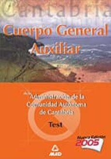 Vinisenzatrucco.it Cuerpo General Auxiliar De La Administracion De La Comunidad Auto Noma De Cantabria: Test Image