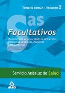 Titantitan.mx Facultativos Especialistas De Area Y Medicos De Familia Del Servi Cio Andaluz De Salud (Sas). Temario (Vol. Ii) Image