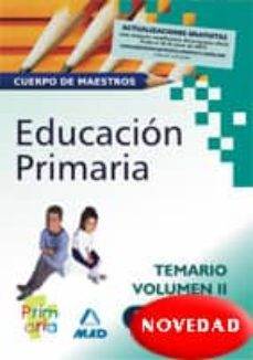 Cdaea.es Cuerpo De Maestros De Educacion Primaria. Temario Vol. Ii Image