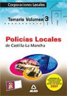 Concursopiedraspreciosas.es Policias Locales De Castilla-la Mancha Vol.iii Image