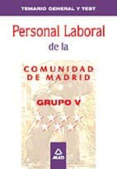 Ojpa.es Temario General Y Test Grupo V Personal Laboral De La Comunidad D E Madrid Image