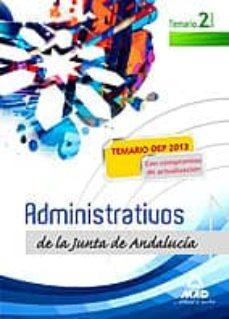 Cronouno.es Administrativos De La Junta De Andalucia. Turno Libre. Temario. V Olumen Ii Image