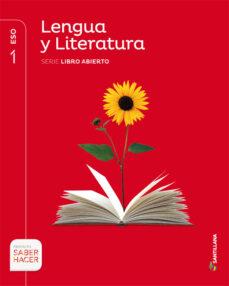 Descargar LENGUA Y LITERATURA 1º ESO LIBRO ABIERTO ED 2015 gratis pdf - leer online